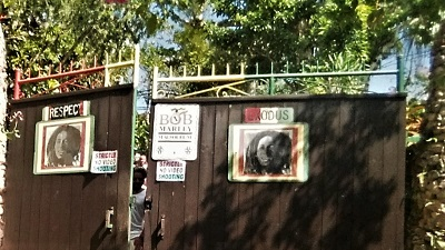 Das Bob Marley Mausoleum in Nine Mile