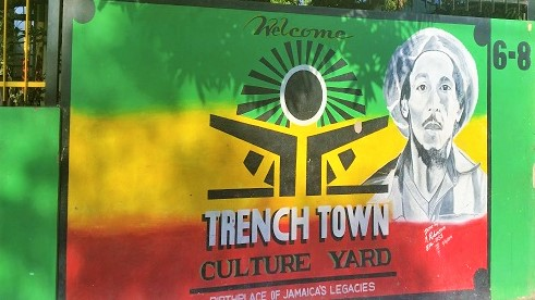 Der Trenchtown Culture Yard in Kingston