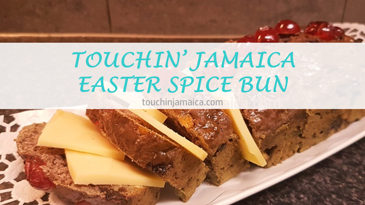 Touchin' Jamaica Easter Spice Bun