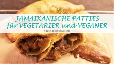 Jamaikanische Patties für Vegetarier und Veganer