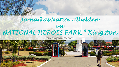 Jamaikas Nationalhelden im National Heroes Park * Kingston