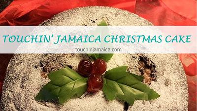 Touchin' Jamaica Christmas Cake