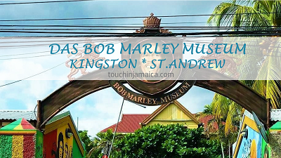 Das Bob Marley Museum in Kingston