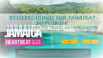 Wie beantrage ich die Travel Authorization – Reisegenehmigung für Jamaika?